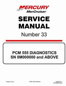 Mercury Mercruiser 8 1s Ho Diagnostics Service Repair