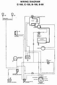 Wheel Horse C 160 Wiring Diagram