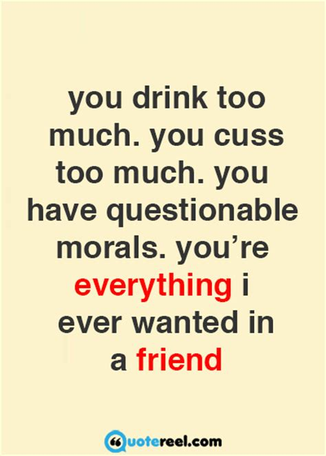 funny friends quotes  send  bff quotereel