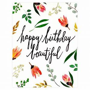 Our Heiday Happy Birthday Beautiful Card | Greer Chicago ...