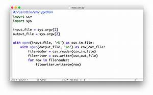 Open Csv File With Python - miralanim