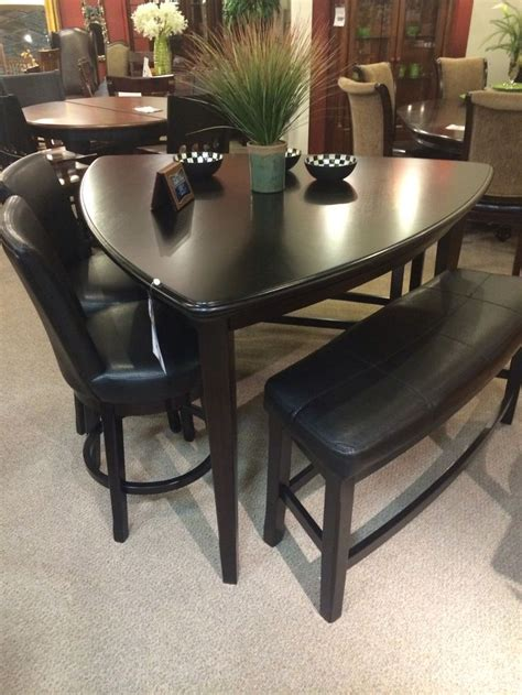 triangle dining table set 17 best images about tables on pinterest ashley