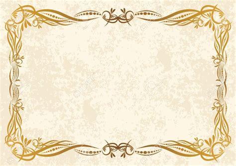 vintage certificate borders blank certificates