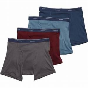 Fruit Of The Loom Men 39 S 4 Pk Extended Leg Low Rise Boxer
