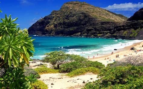 hawaii parks oahu beaches  wallpaperscom