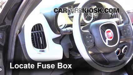 2012 Fiat 500 Fuse Box Location by Interior Fuse Box Location 2014 2019 Fiat 500l 2014