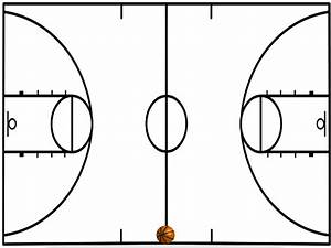 Printable Basketball Court