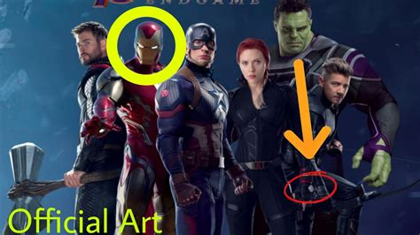 Avengers Endgame Official Promo Art Youtube