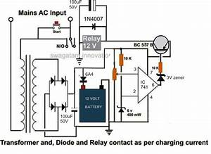 How To Make A High Current 100 To 200 Amp Automatic Lead Acid Battery Charger Circuit