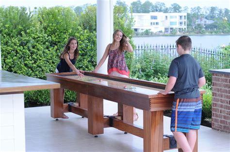 used outdoor shuffleboard table aspen outdoor shuffleboard table traditional game