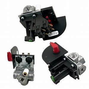 Air Compressor Pressure Switch And Manual Shut