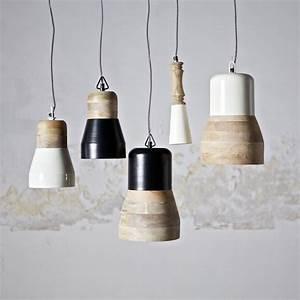 Lampe Schwarz Weiß : h ngelampen deckenlampe esszimmerlampe leuchte lampe holz shabby weiss schwarz in m bel wohnen ~ Frokenaadalensverden.com Haus und Dekorationen