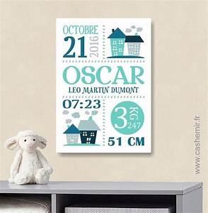 cadeau de naissance garcon personnalise affiche de With affiche chambre bébé avec bouquet original
