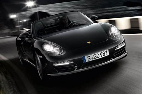 porsche sports car black porsche boxster s black edition evo