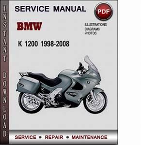 Bmw K 1200 1998-2008 Factory Service Repair Manual Download Pdf