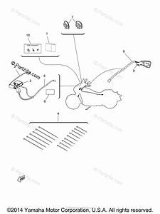 Yamaha Motorcycle 2014 Oem Parts Diagram For Audio