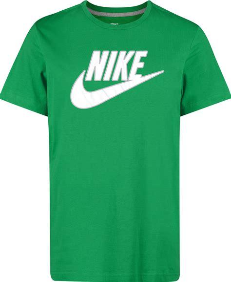 green shoes nike futura t shirt green white