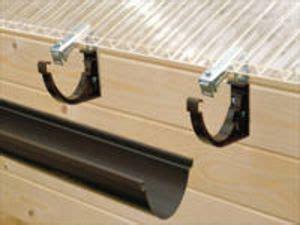 rinneneisen mit drehgelenk verstellbar montage duplex dachrinne