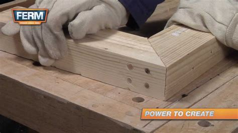create  strong mitre joint youtube
