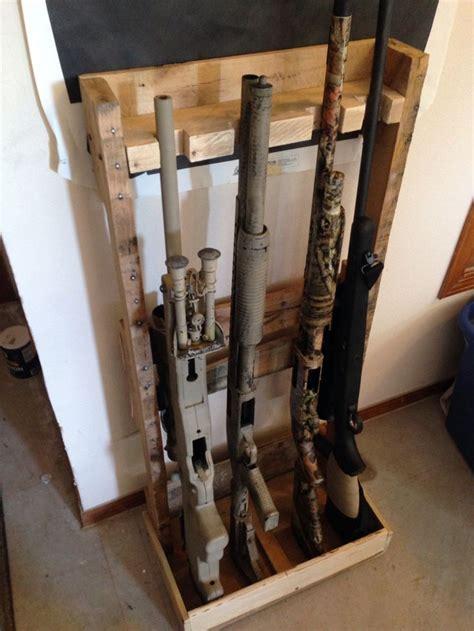 pallet gun rack range creations rifle rack gun rooms