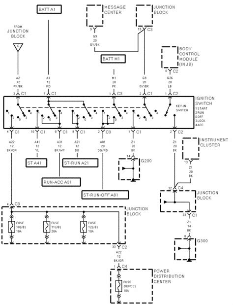 2003 chrysler town and country injector wiring harness