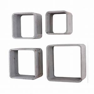 Cube Etagere Bois : etageres cube ~ Teatrodelosmanantiales.com Idées de Décoration