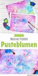 Malen Mit Wasserfarben : malen mit kindern wunderbare pusteblumen mit wasserfarben malen kinder basteln pinterest ~ Orissabook.com Haus und Dekorationen