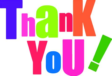 Free Thank You Clipart Thank You Clip Microsoft Free Images Clipartly