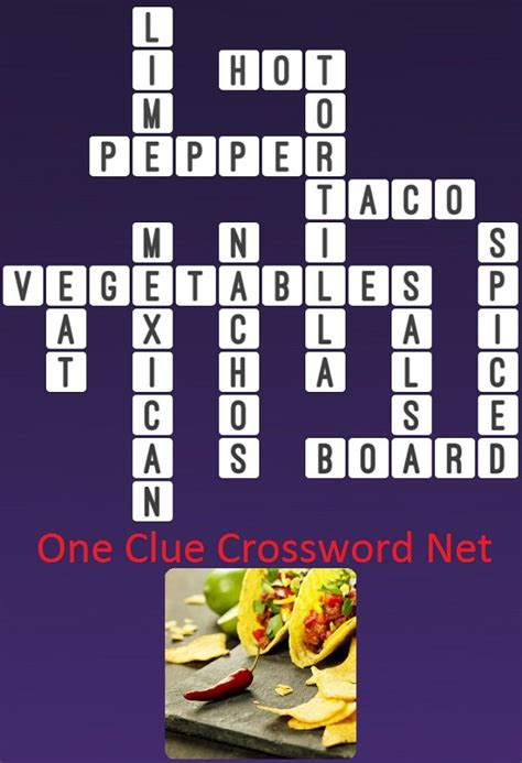 crossword taco clue puzzles chapter answers answer
