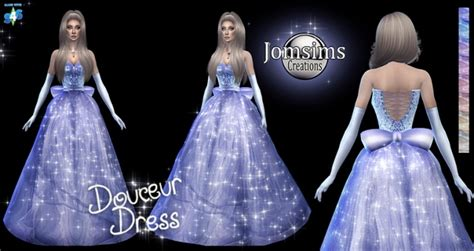 Princess Tiana Bedroom by Douceur Princess Dress At Jomsims Creations 187 Sims 4 Updates