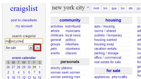 New York Resumes Craigslist by How To Use Craigslist Search Across New York City Howtech
