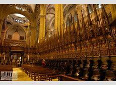 Bildergalerie Kathedrale von Barcelona Chor in der
