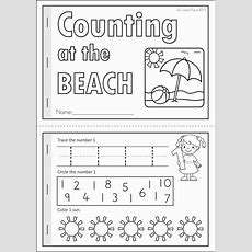 Summer Review Kindergarten Math & Literacy Worksheets & Activities  Summer School Summer