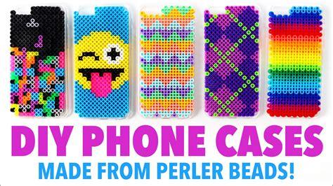 diy phone cases   perler beads hgtv handmade