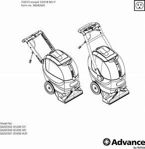 Advance Carpet Extractor Manual