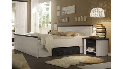 zurbrüggen schlafzimmer schlafzimmer set 4 teilig luca pinie wei 223 und touchwood
