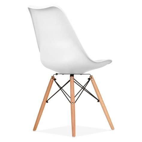 chaise blanche pied en bois chaise blanche pied en bois 16 idées de décoration