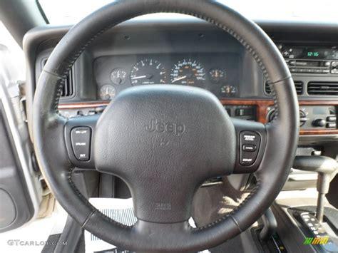 jeep xj steering wheel 1998 jeep grand cherokee limited 4x4 steering wheel photos