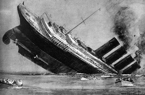 in pictures the lusitania disaster that helped draw the