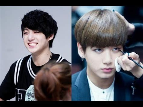 bts jungkook hairstyle evolution kpop  youtube