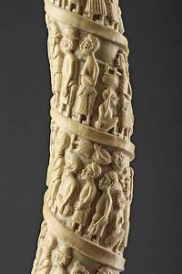 Loango, West African, Kongo Peoples Carved Ivory Tusk ...