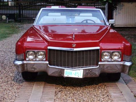 Purchase Used 1970 Cadillac Deville Convertible In Houston