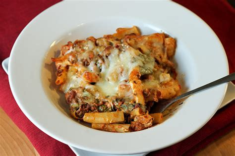 baked ziti with ground beef baked ziti 22 ground beef recipes to try this week popsugar moms