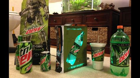 Mountain Dew Game Fuel Limited Edition Custom Xbox 360