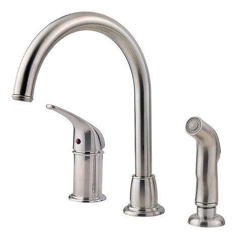 kitchen faucet with spray pfister prive single handle pull out sprayer kitchen