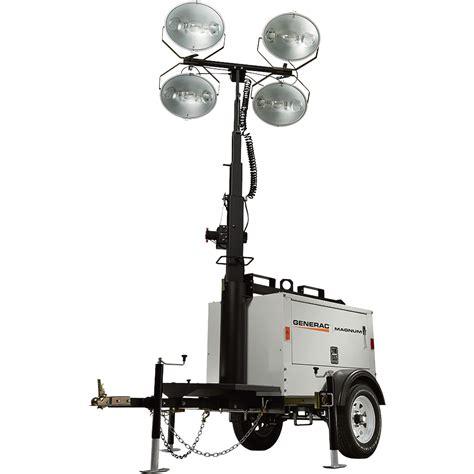 magnum light tower parts generac magnum mlt3060m mobile light tower 6000 watts