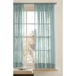 better homes gardens chf crushed voile long curtains green