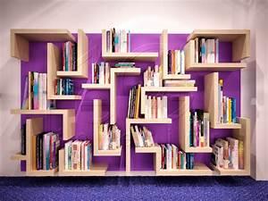 Modern bookcase designs library design awesome bookcase for Interior design bookshelf arrangement