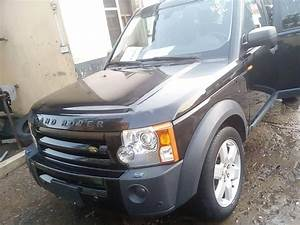 Foreign Used Land Rover Lr3 2006 Model Black