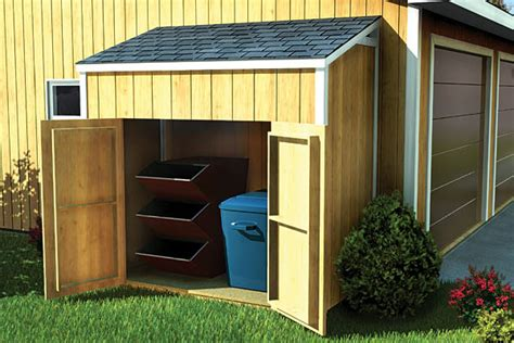 slant roof shed plans how to build diy blueprints pdf